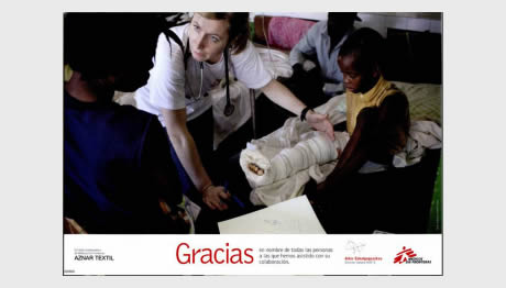 MOBILE PHONE COLLECTION CAMPAIGN MEDICOS SIN FRONTERAS